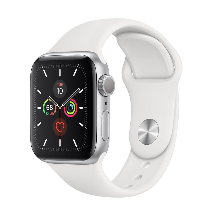 Apple Watch 5 GPS 40mm Viền Nhôm – Dây Cao Su – Chính Hãng Mới 100%