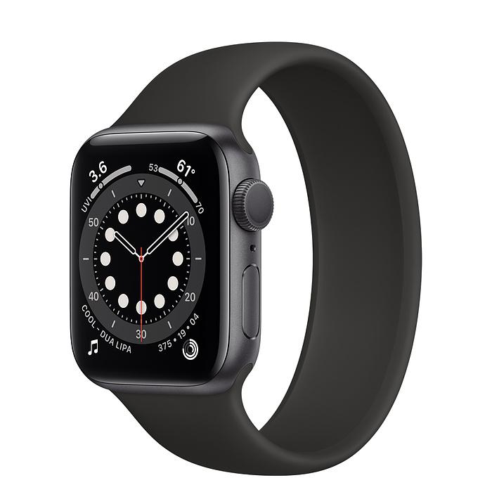 Apple Watch 6 GPS 44mm Viền Nhôm – Dây Cao Su – Chính Hãng Mới 100%